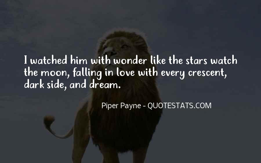 Falling Stars Love Quotes #294799