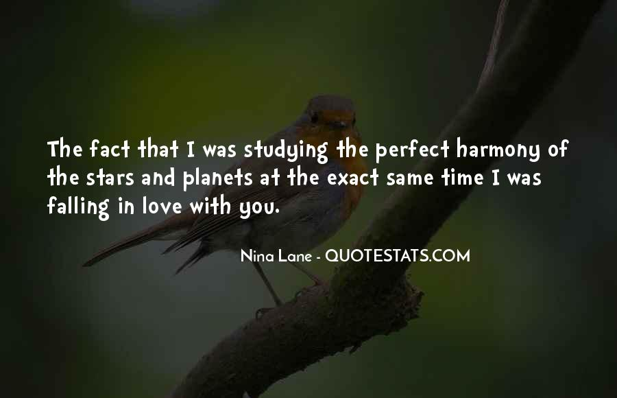 Falling Stars Love Quotes #46695