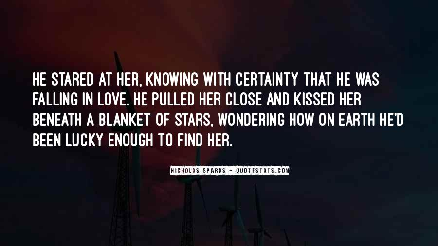 Falling Stars Love Quotes #618419