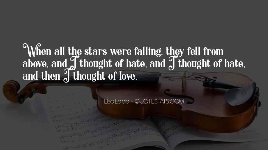 Falling Stars Love Quotes #633075
