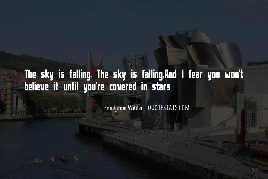 Falling Stars Love Quotes #794575