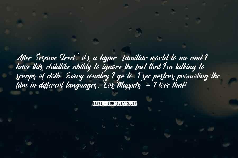 Familiar Love Quotes #1455402