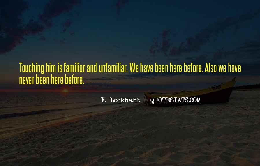 Familiar Love Quotes #1517945