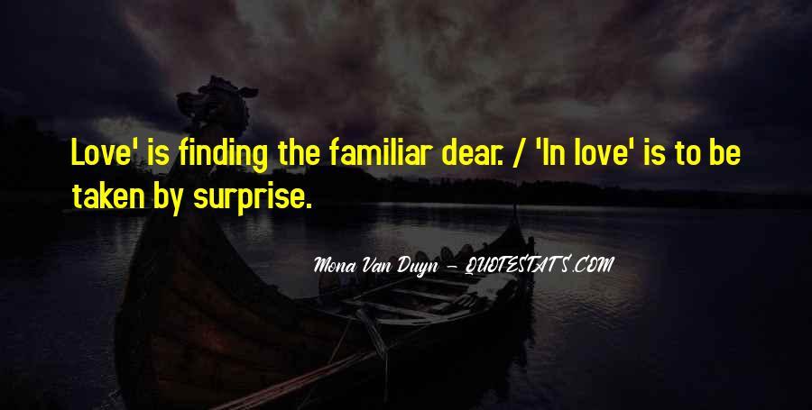 Familiar Love Quotes #1590733