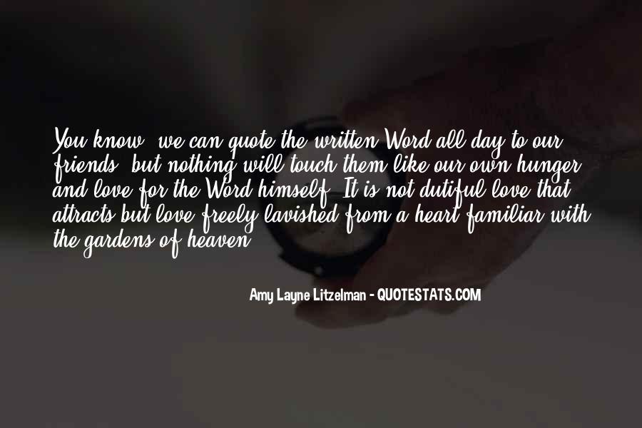 Familiar Love Quotes #223756