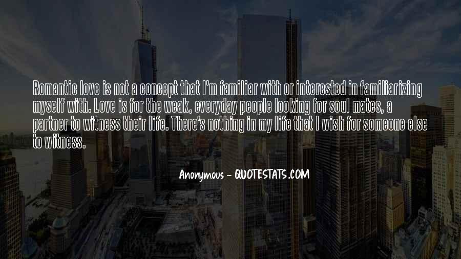 Familiar Love Quotes #395134
