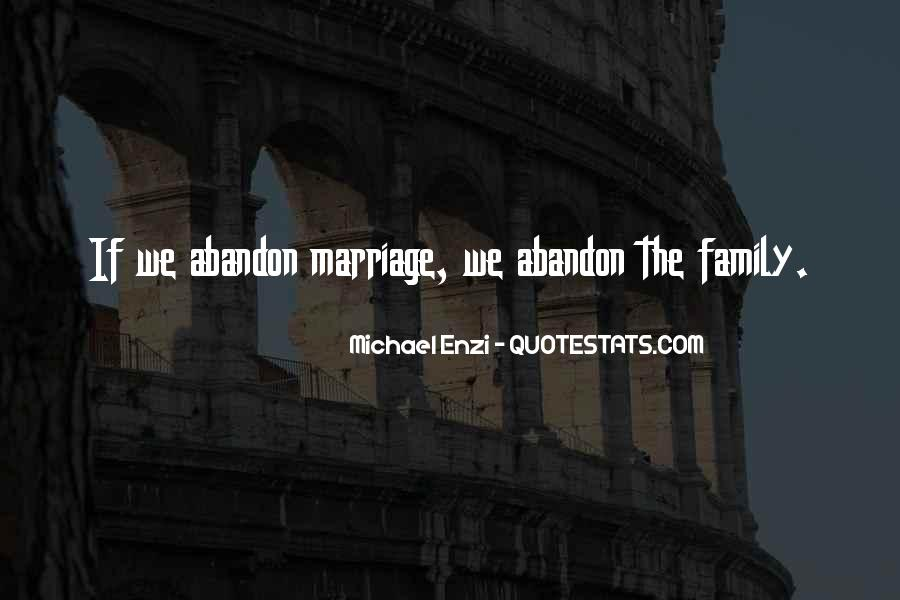 Family Abandon Quotes #1576279