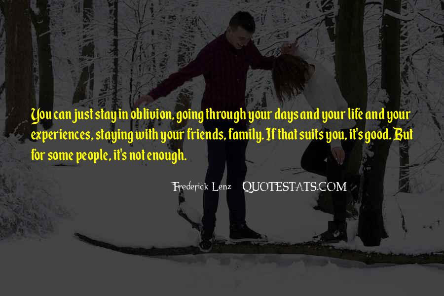 Family And Friends Inspirational Quotes #1797012