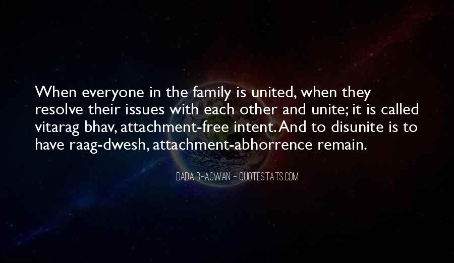 Family Attachment Quotes #374600
