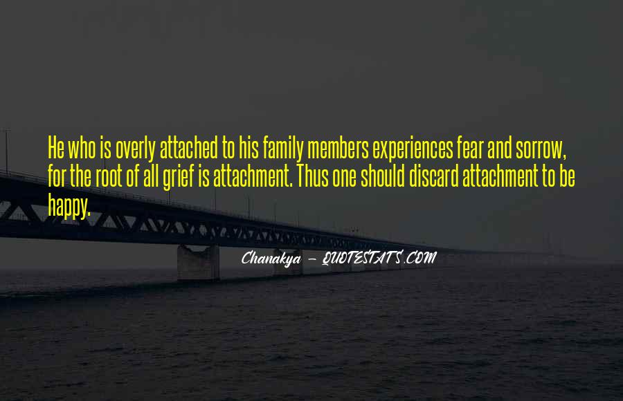 Family Attachment Quotes #959295