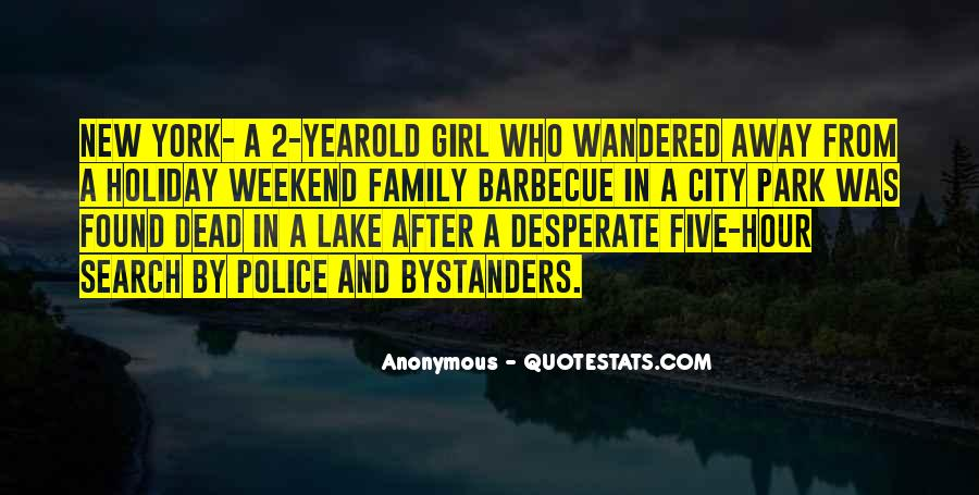Family Barbecue Quotes #1130077
