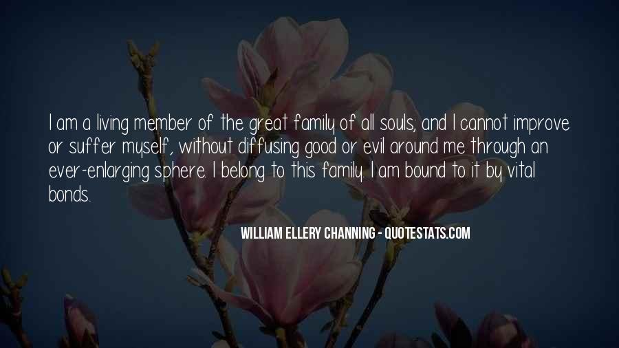 Family Bonds Quotes #1156380