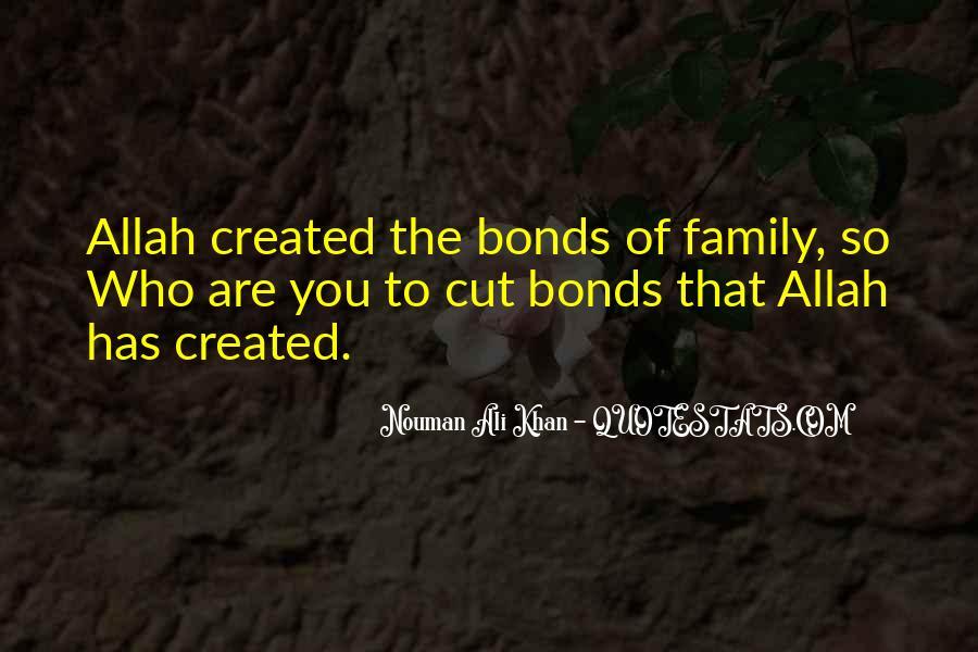 Family Bonds Quotes #1199635