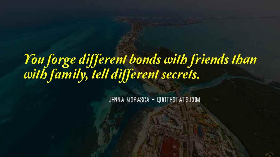 Family Bonds Quotes #1440719