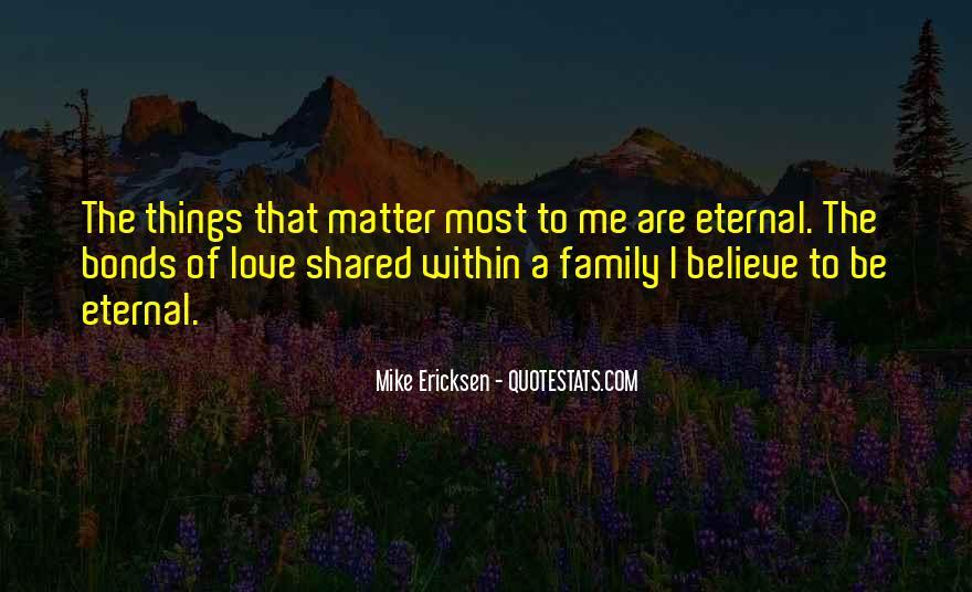 Family Bonds Quotes #1790169