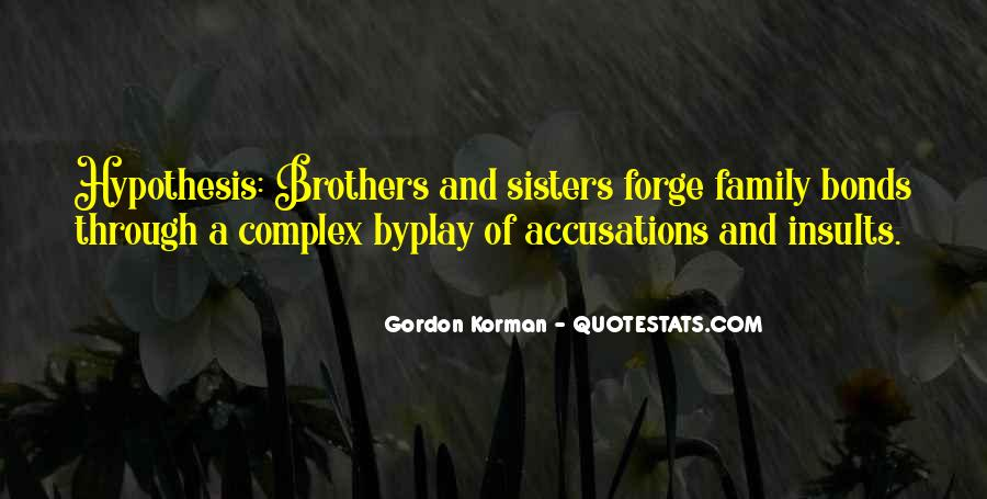 Family Bonds Quotes #264297