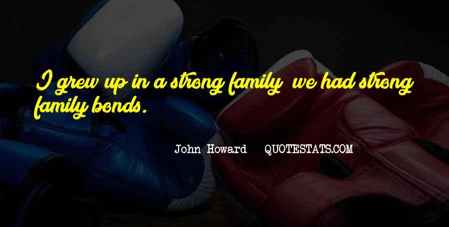 Family Bonds Quotes #486363
