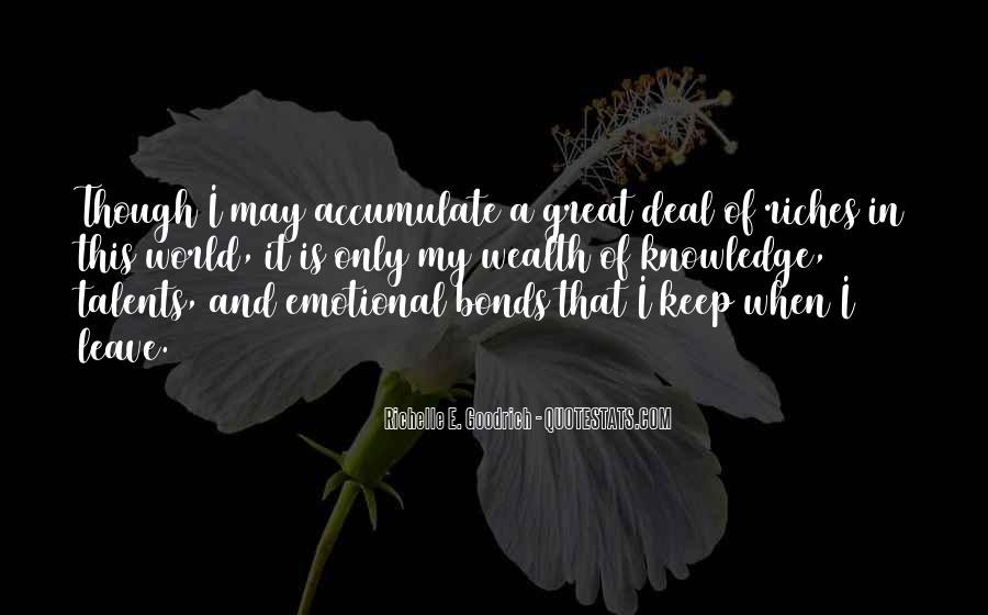 Family Bonds Quotes #653524