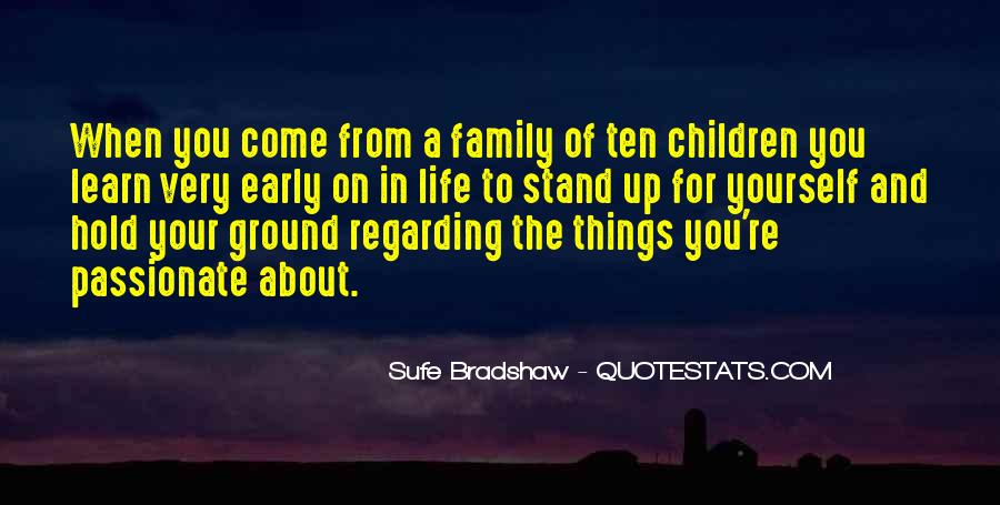 Family For Life Quotes #208396