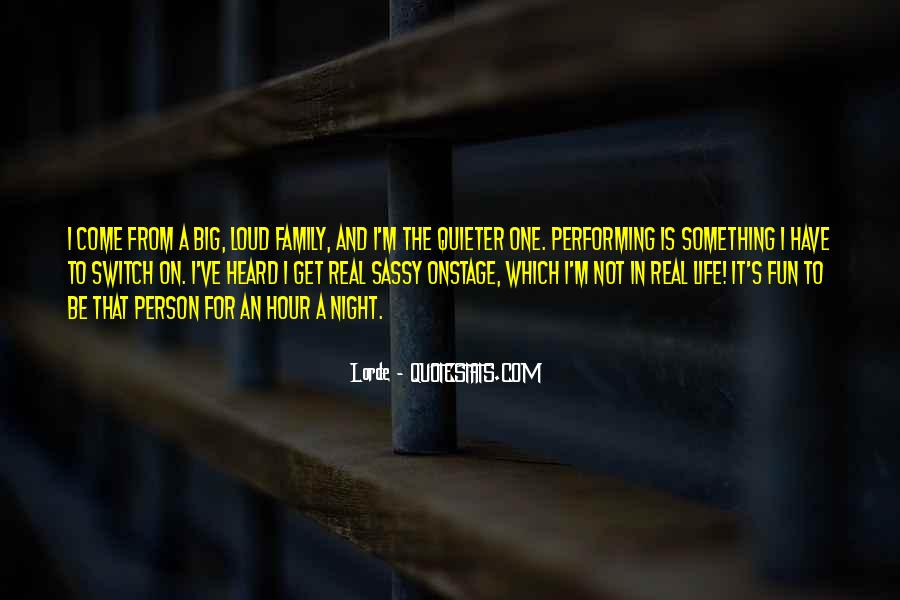 Family For Life Quotes #68810