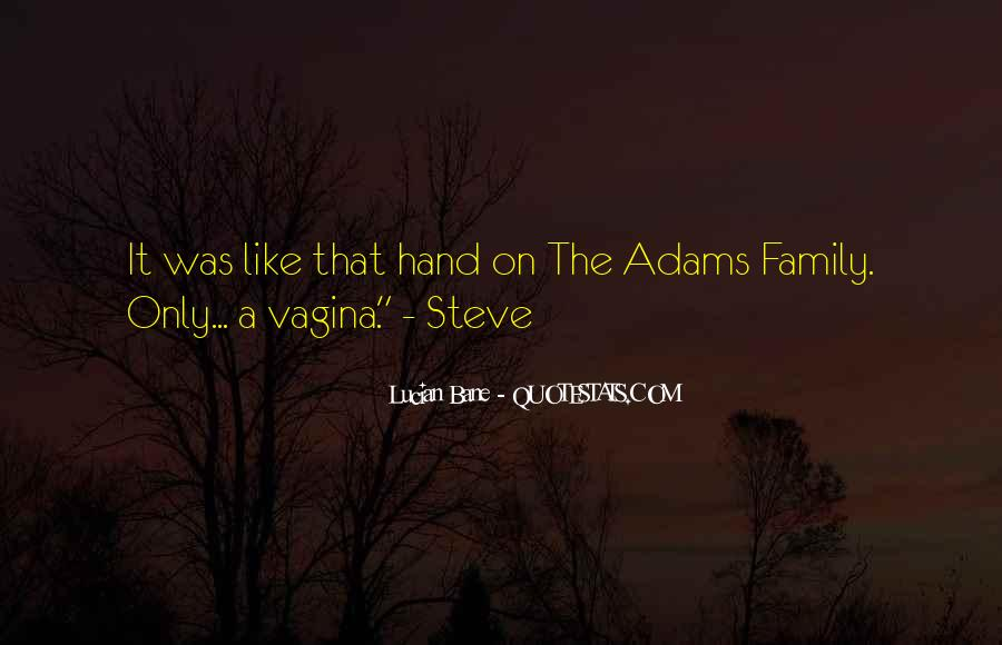 Family Hand Quotes #1206455