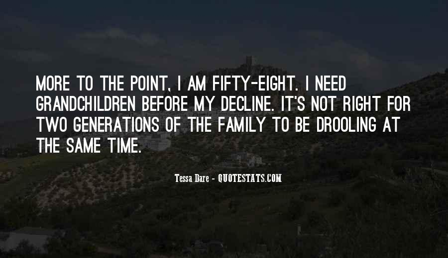 Family In Time Of Need Quotes #1239455