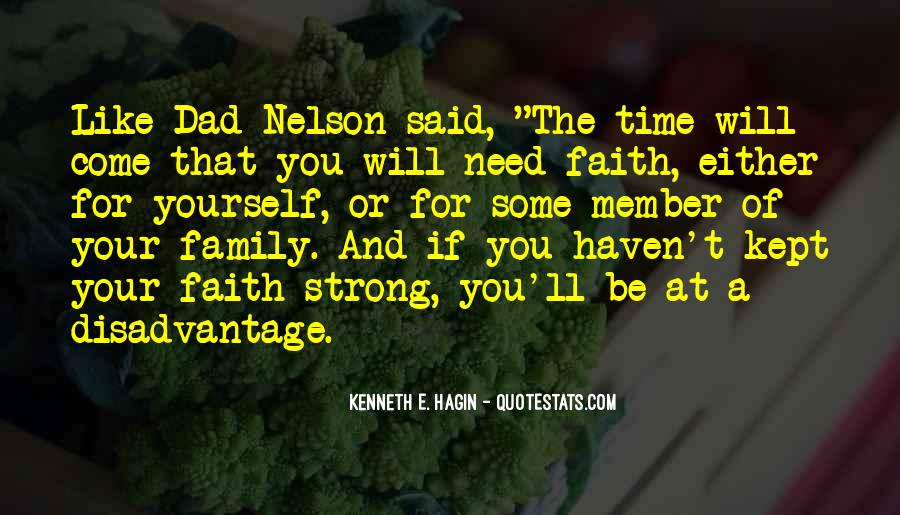 Family In Time Of Need Quotes #1577162