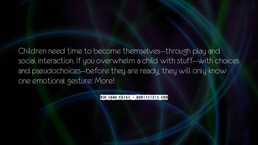 Family In Time Of Need Quotes #1646907