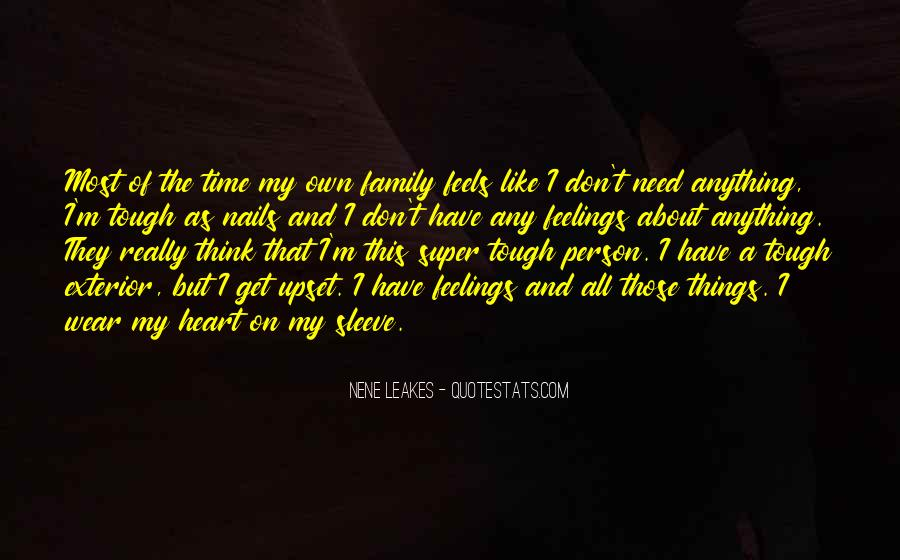 Family In Time Of Need Quotes #518904