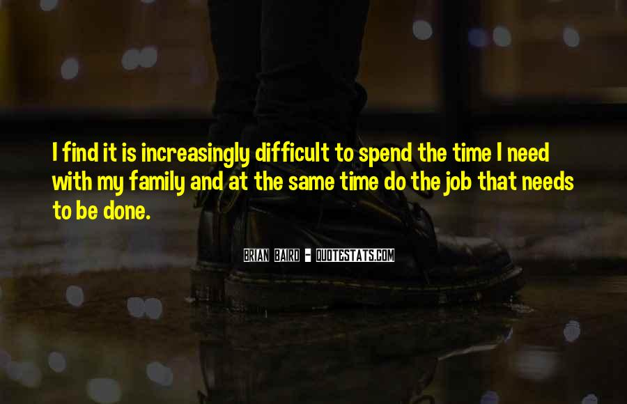 Family In Time Of Need Quotes #865342