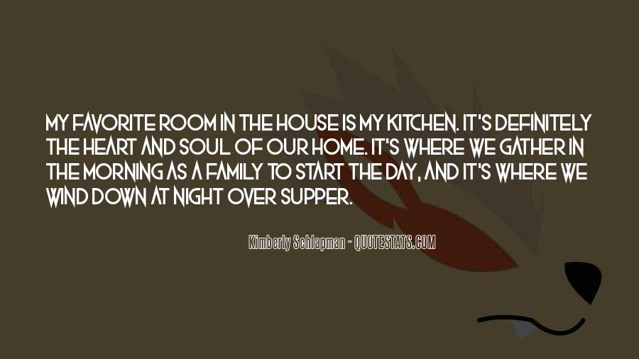 Family Is In The Heart Quotes #1226622