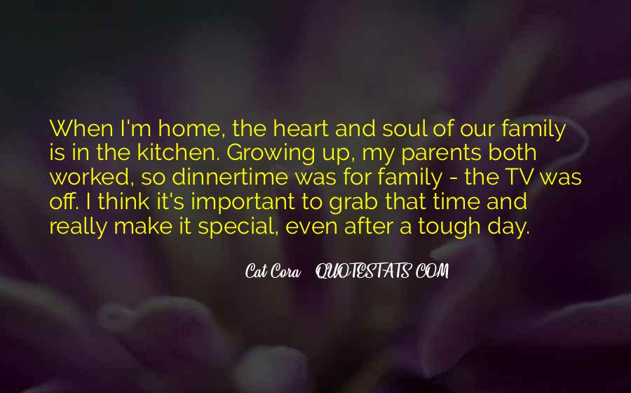 Family Is In The Heart Quotes #1292005
