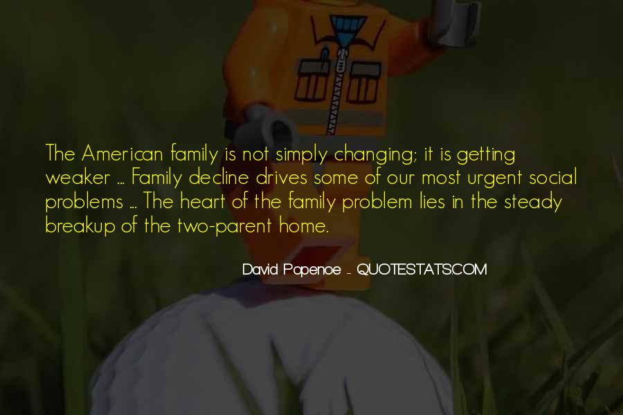 Family Is In The Heart Quotes #1748345