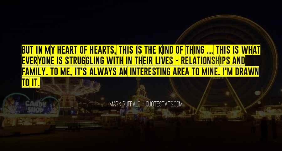Family Is In The Heart Quotes #24373
