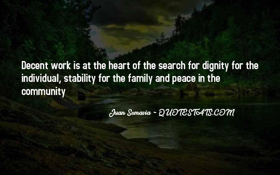 Family Is In The Heart Quotes #50752