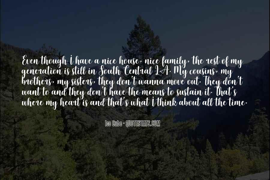 Family Is In The Heart Quotes #690800