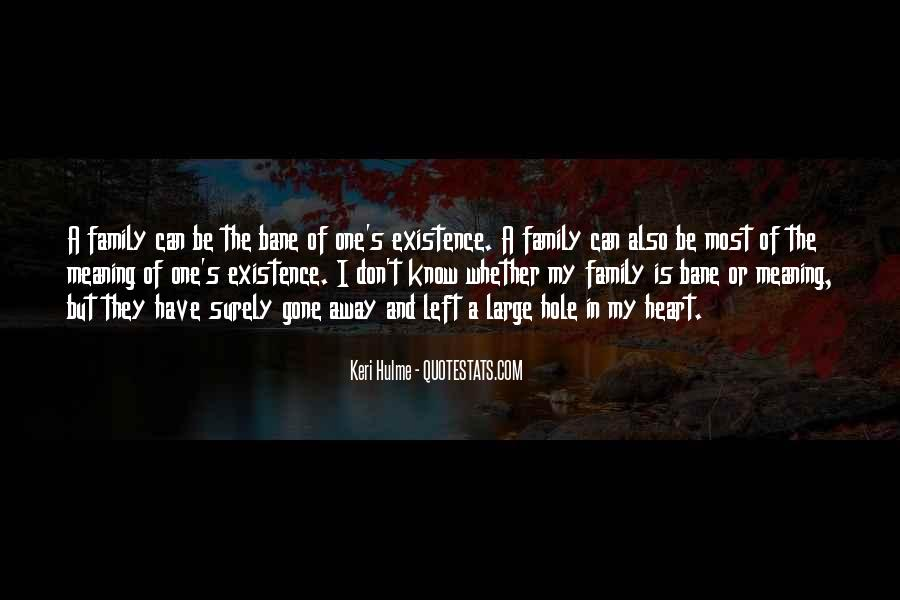 Family Is In The Heart Quotes #725488