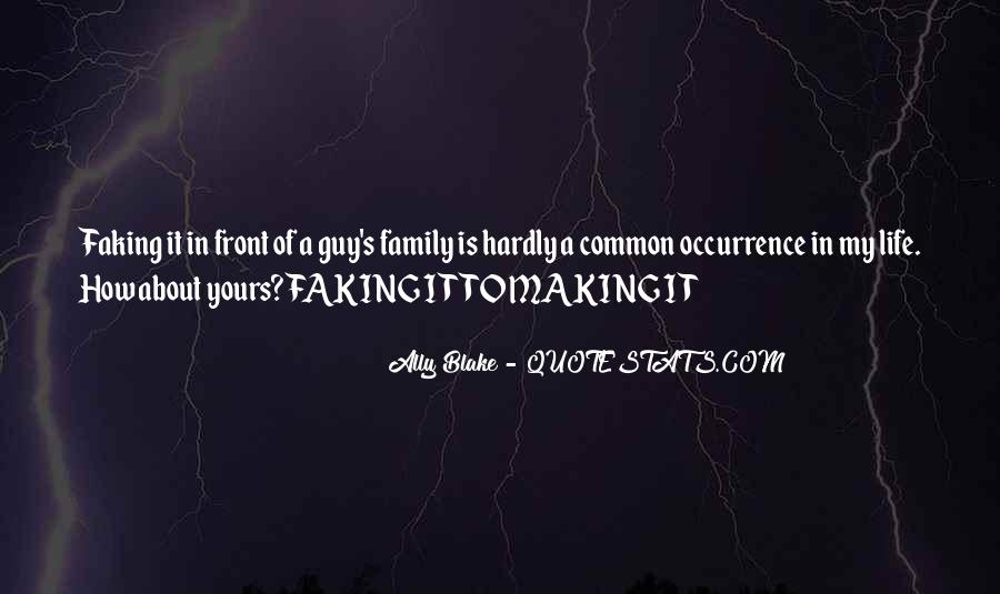 Family Is My Quotes #61994