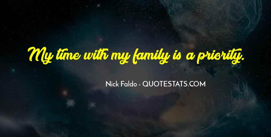 top family is priority quotes famous quotes sayings about