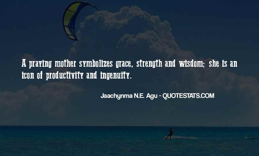 Family My Strength Quotes #116039