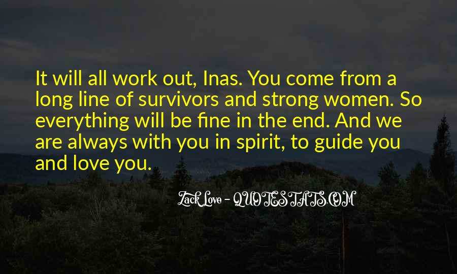 Family My Strength Quotes #1488266
