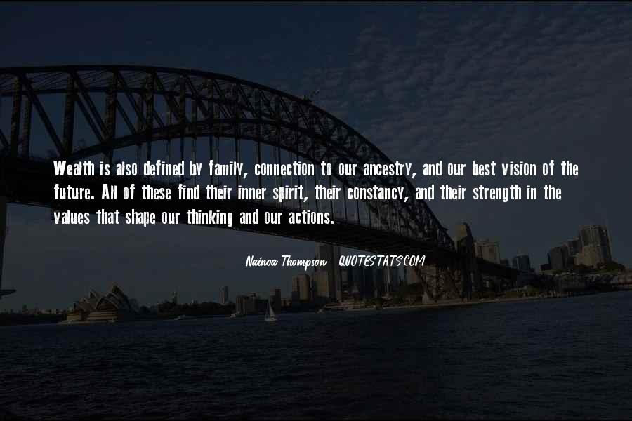 Family My Strength Quotes #376275