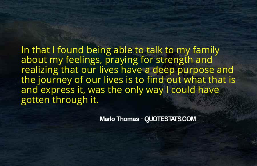 Family My Strength Quotes #433644