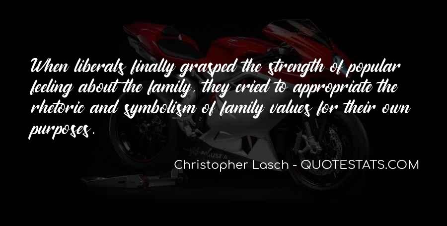 Family My Strength Quotes #585615