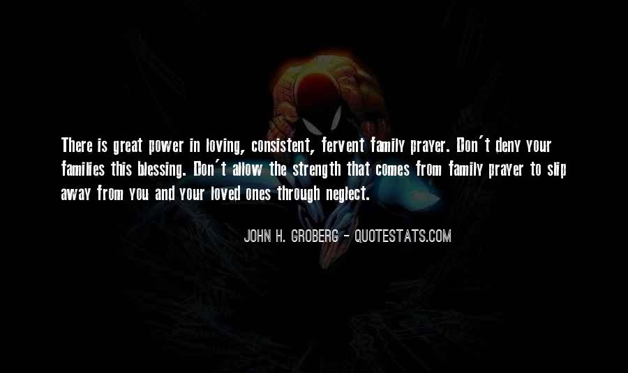 Family My Strength Quotes #925831