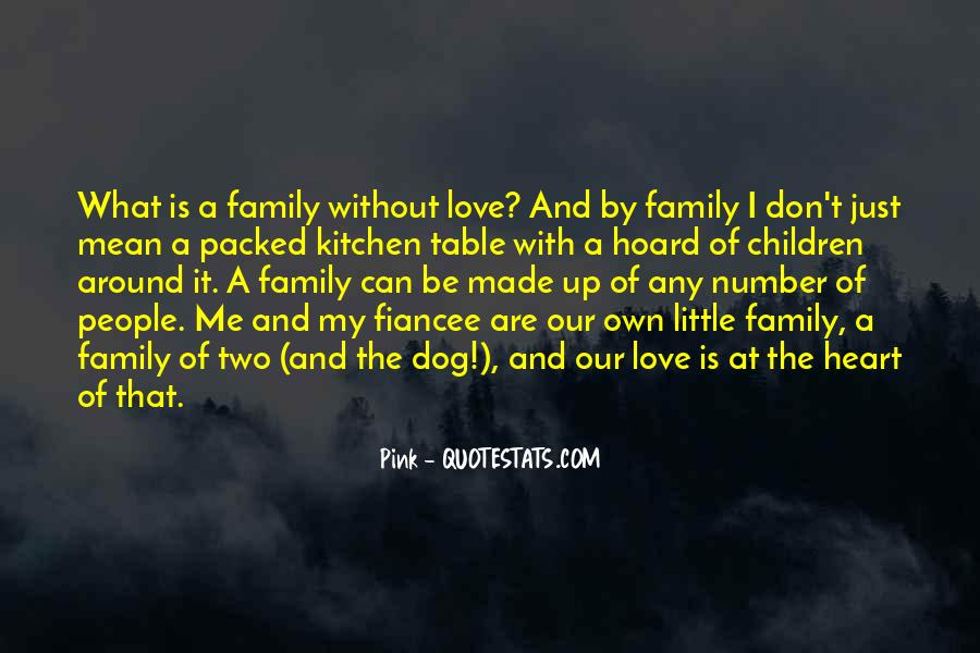 Family Of Two Quotes #197550