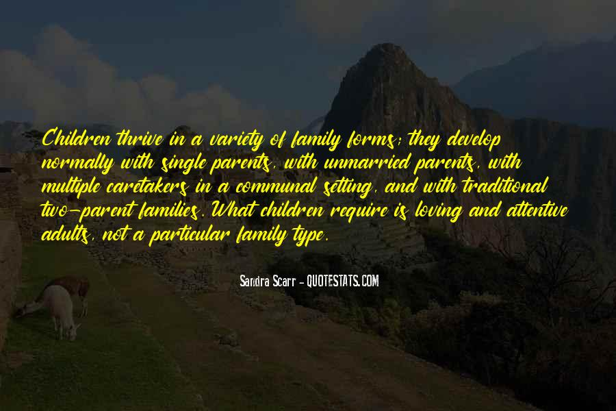 Family Of Two Quotes #238158