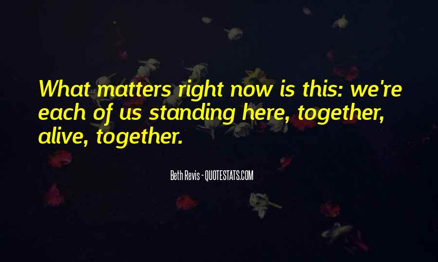 Family Really Matters Quotes #203639