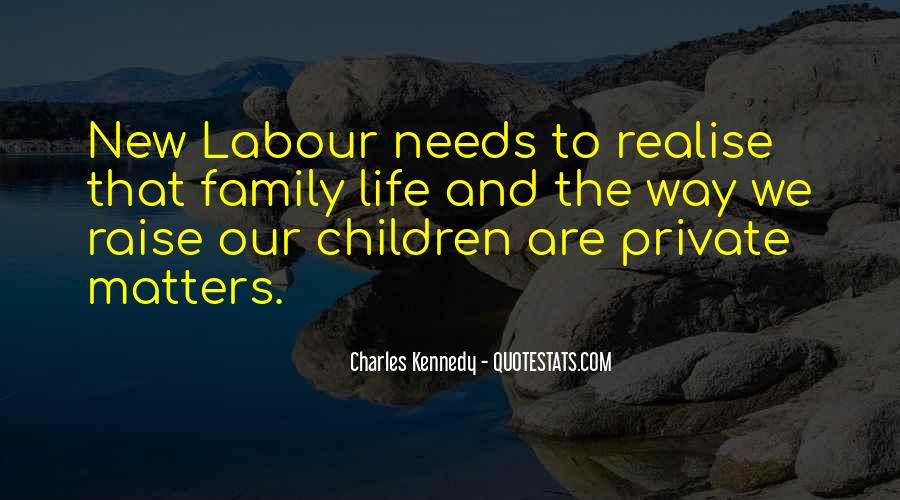 Family Really Matters Quotes #36293