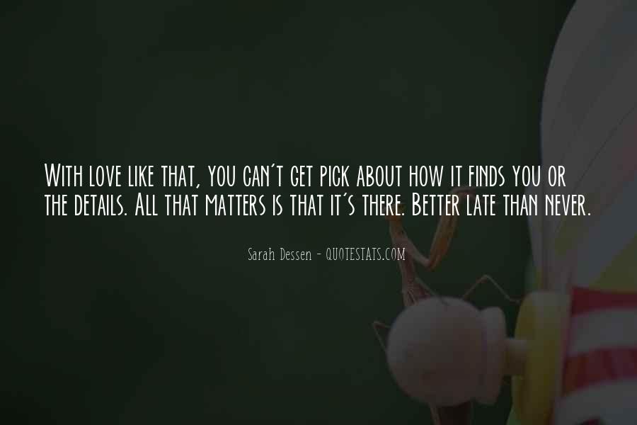 Family Really Matters Quotes #382906